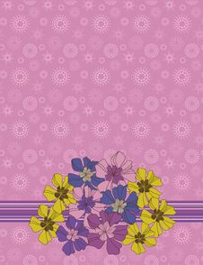 Free Floral Background Stock Image - 8946771