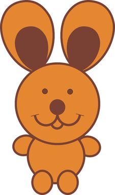 Free Cartoon Rabbit Royalty Free Stock Photography - 8946827