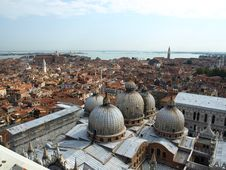 Free Venice Panorama From The Tower Royalty Free Stock Image - 8946966