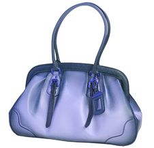 Free Blue Bag Royalty Free Stock Photography - 8947307