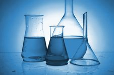 Free Chemical Retorts Stock Photo - 8949310