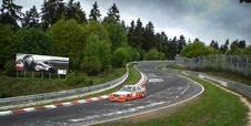 Free Mercedes At The Nordschleife Royalty Free Stock Image - 89439316