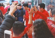 Free Apple Store Opening @ Guangzhou Royalty Free Stock Photo - 89439855