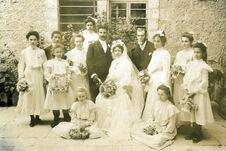 Free Wedding Dress, Photograph, White, Bride Royalty Free Stock Photos - 89440098