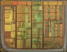 Free AMD@180nm@K7@Morgan@Duron@DHD1200AMT1B_AHLCA0151VPDW___Stack-DSC05722-DSC05758_-_ZS-DMap Royalty Free Stock Images - 89440189