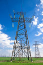 Free Electricity Pylon Or Tower Royalty Free Stock Images - 8956689