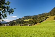Free Alpine Chalets And Meadows Royalty Free Stock Photos - 8950258