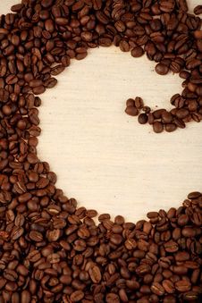 Free Pattern Of Coffee Stock Photography - 8951122