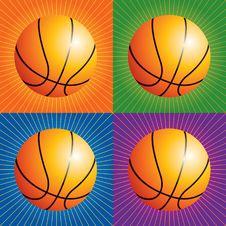 Free Retro Basketballs Stock Photos - 8951163