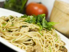 Free Fresh Pasta Royalty Free Stock Photo - 8952305
