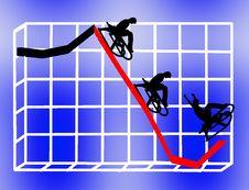 Free Riding The Economy Down Royalty Free Stock Photos - 8952628