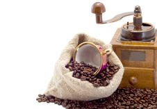 Free Coffee Grinder Royalty Free Stock Photo - 8953845