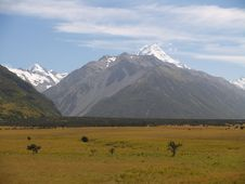 Free Mount Cook / Aoraki Royalty Free Stock Photography - 8954127