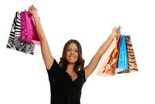 Free Girl Shopping Stock Photography - 8955492