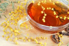 Yellow Tea Royalty Free Stock Images