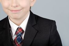Free Business Boy Close-up Stock Photography - 8956492