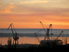 Free Shipyard Royalty Free Stock Image - 8956626