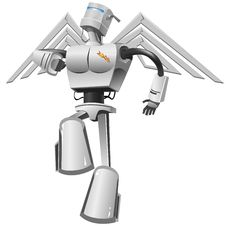 Free Flying Robot Stock Photos - 8956773