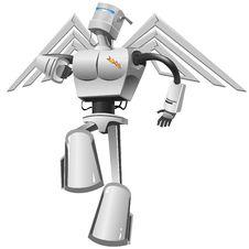 Flying Robot Stock Photos