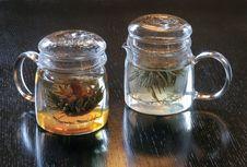 Free Green Tea. Royalty Free Stock Photography - 8956837