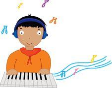 Free Plpaying Music Stock Photo - 8957300