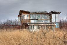 Free Obsolete Slum Cottage In The Field Stock Photos - 8957583