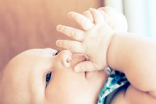 Free Close Up Baby Portrait Royalty Free Stock Photo - 8958195