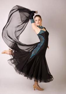 Free Professional Dancer In Motion Stock Photos - 8958483