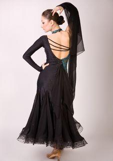 Free Dancer Girl Posing Stock Images - 8958494