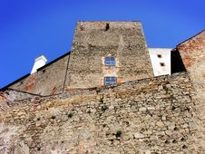 Free Old Castle Wall Royalty Free Stock Image - 8958536