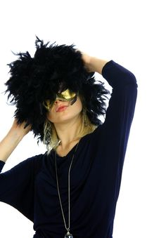 Free Lady With Mask Royalty Free Stock Photography - 8958867