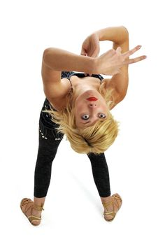 Free Blond Belly Dancer Royalty Free Stock Images - 8959359