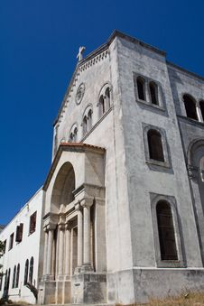 Free Old Conserved Church In Miramar, Havana Stock Photo - 8959390