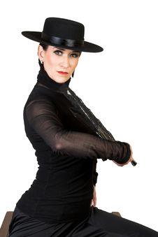 Free Spanish Dancer Royalty Free Stock Photography - 8959817
