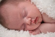 Free Baby Taking A Nap Stock Images - 8959964