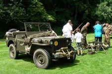 Free Jeep 1960 Hotchkiss M201 Royalty Free Stock Photo - 89504445
