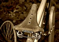 Free PUBLIC DOMAIN DEDICATION Digionbew 10. June July 29-06-16 Bicycle Saddle Brookes LOW RES DSC03712 Royalty Free Stock Images - 89504749