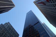 Free Skyscrapers Against Blue Skies Stock Photo - 89507830