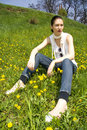 Free Young Woman In Nature Royalty Free Stock Photos - 8963988