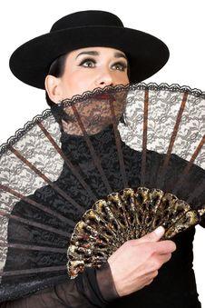 Free Spanish Dancer Royalty Free Stock Photography - 8960157