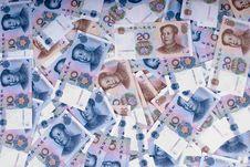Free Many Paper Moneys Royalty Free Stock Photos - 8960208