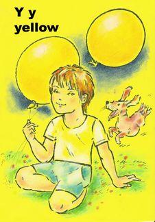 Free Alphabet For Children Royalty Free Stock Image - 8962426