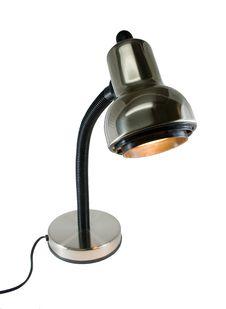 Free Chrome Desk Lamp Stock Image - 8962521