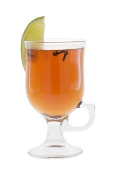 Free Cocktail On White Royalty Free Stock Photos - 8962988