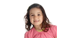 Free Little Girl With A Big Smile Stock Photo - 8965610