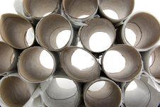 Free Empty Toilet Paper Rolls Stock Photo - 8965710