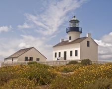 Free Point Loma Lighthouse Stock Photography - 8965722