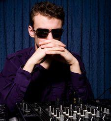 Free Young DJ Indoors Stock Photos - 8965843