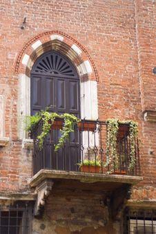 Free Verona Veranda Royalty Free Stock Photo - 8966045
