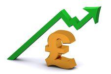 Free Pound Rising Stock Image - 8966251